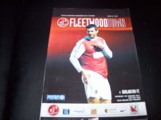 Fleetwood Town v Darlington, 2010/11